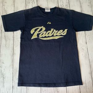 Padres T Shirt Youth M